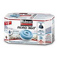 4 recharges pour absorbeur d'humidité Rubson Aero 360°