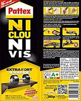 Mastic Pattex Ni Clou Ni Vis Chrono cartouche 380g