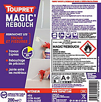Enduit de rebouchage Magic Rebouch aérosol 200 ml