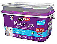 Enduit de rénovation Toupret Magic'Liss 6kg + kit outils