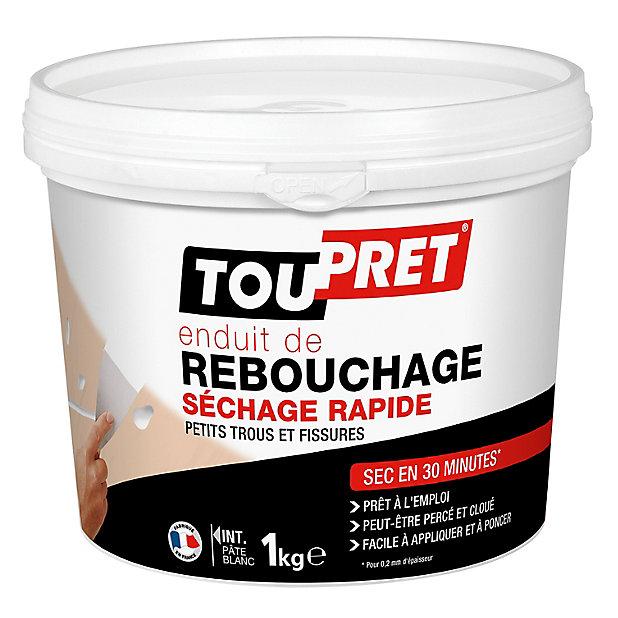 Enduit De Rebouchage Rapide Pret A L Emploi Toupret 1l Castorama