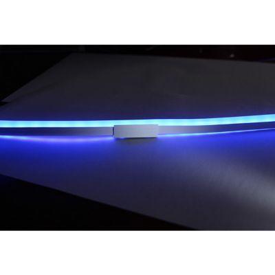 Rail de fixation CHROMEX Surline 500 cm Led intégrée