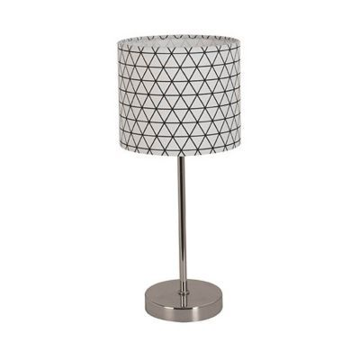 lampe poser corep peps noir chrome castorama. Black Bedroom Furniture Sets. Home Design Ideas