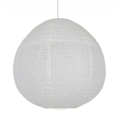 Suspension COREP Dentelle blanche Ø60 x h.60 cm