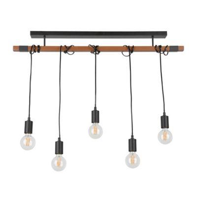 Suspension Aalto 5 lumières E27/40 W IP20 Corep