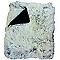 Plaid Rosie fausse fourrure noir 130 x 160 cm
