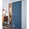 Porte coulissante gravé horizontal 83 cm