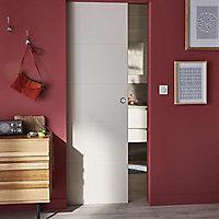 Porte coulissante gravée horizontal 83 cm