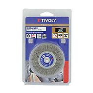 Brosse perceuse de décapage pour le métal disque Tivoly