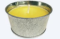 Bougie citronnelle avec seau métallique ø12 cm