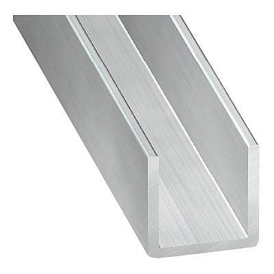 U Aluminium Brut 20 X 15 X 20 Mm 2 M Castorama