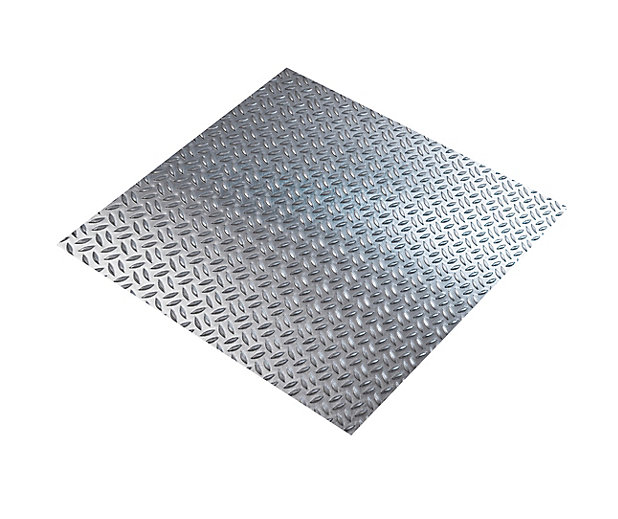 Tole Aluminium Brut Grain De Riz Ep 1 6 Mm 50 X 25 Cm Castorama