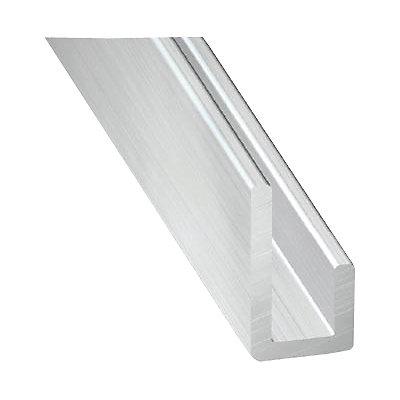 Cimaise Aluminium Brut 20 X 10 X 10 Mm 2 M Castorama