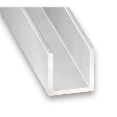 U Aluminium Anodise 20 X 25 X 20 X 1 5 Mm 2 M Castorama