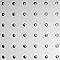 Plaque adhésive rond polystyrène 100 x 65 cm