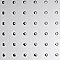 3 plaques adhésives rond polystyrène 30 x 30 cm