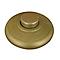 Interrupteur à pied unipolaire TIBELEC 2A 250V or