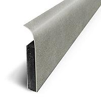 Plinthe sol souple PVC Décor Béton arouge nt 7 x 120 cm