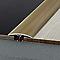 Seuil multiniveau DINAC aluminium titium strié 41/270 cm