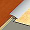 Seuil multiniveau DINAC aluminium naturel 41/270 cm