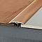 Seuil multiniveau DINAC aluminium décor bois hêtre 41/270 cm