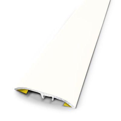 barre de seuil universelle alu blanc 37x83 cm castorama. Black Bedroom Furniture Sets. Home Design Ideas