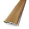 Barre de seuil universelle Chêne Rustique Alu 37x83 cm