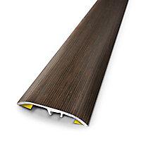 Barre de seuil universelle wenge planche 37x83 cm