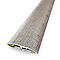 Barre de seuil universelle Pin scie Blanchi 37x83 cm