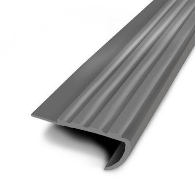 Nez de marche coller gris 61 34 mm l 1 7 m castorama for Nez de marche exterieur leroy merlin