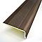 Nez de marche adhésif aluminium 36/24 mm L.95 cm