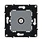 Mécanisme de prise TV simple Magnésium Espace