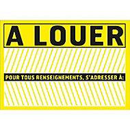 """Panneau de signalisation """"A louer"""""""