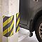 Mousse protection carrosserie coupée en lamelle MOTTEZ Jaune&Noir