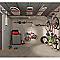 Porte-tout de garage en acier B017P