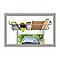 Porte-tout de garage réglable de 220 à 380 cm B018P