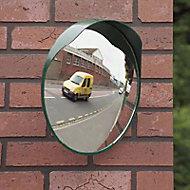 Miroir convexe intérieur/extérieur Mottez Ø40 cm B314P40