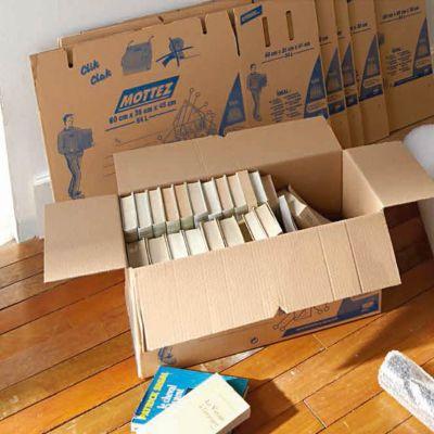 caisse de demenagement 60 x 35 x 45 cm castorama. Black Bedroom Furniture Sets. Home Design Ideas