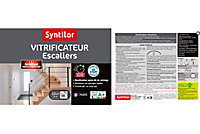 Vitrificateur Syntilor Escaliers incolore satin 2,5L