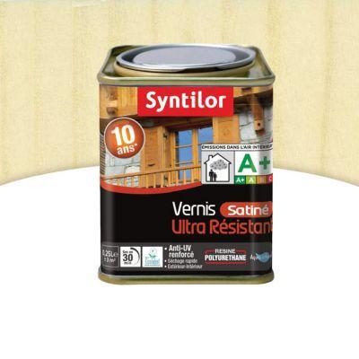 Vernis marin bois int rieur ext rieur syntilor incolore for Vernis bois exterieur