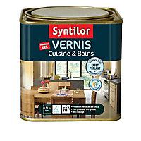 Vernis spécial cuisine et sdb blanc cérusé 0,5L
