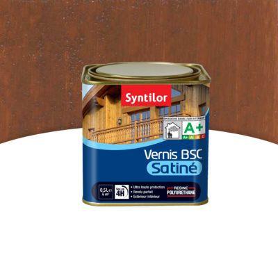 vernis bois int rieur ext rieur syntilor bsc bois exotique satin 0 5l castorama. Black Bedroom Furniture Sets. Home Design Ideas