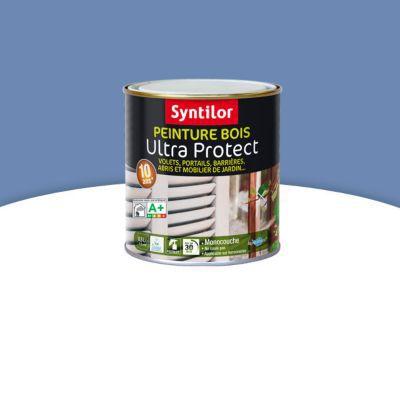 Peinture Bois Syntilor Ultra Protect Bleu Lavande 05l Castorama
