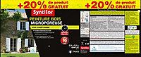 Peinture bois Syntilor Ultra Protect vert basque 2,5L + 20% gratuit