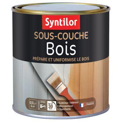 sous couche bois aquar thane syntilor bois 0 5l castorama. Black Bedroom Furniture Sets. Home Design Ideas