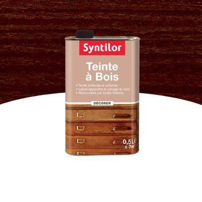 Teinte À Bois Syntilor Wengé 0,5L | Castorama