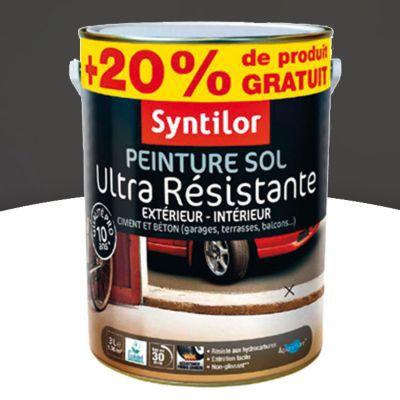 peinture sol syntilor asphalte satin 2 5l 20 gratuit castorama. Black Bedroom Furniture Sets. Home Design Ideas
