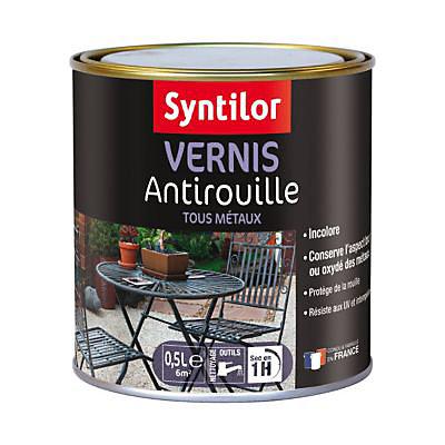 Vernis anti rouille Syntilor Mat 0,5L