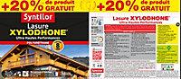 Lasure Xylodhone Syntilor Incolore 5L + 20% - 8 ans