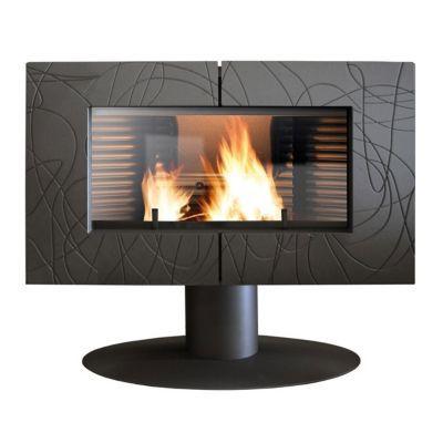 po le bois invicta symphonia 12 kw castorama. Black Bedroom Furniture Sets. Home Design Ideas